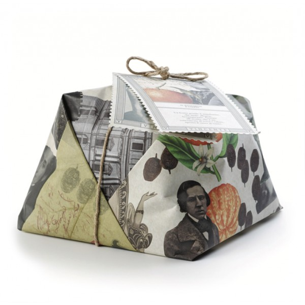 Vincente Delicacies - Vincenzo Bellini – Panettone Artigianale Mandarino e Uvetta - Sguardi Siciliani - Incartato a Mano