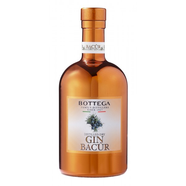 Bottega - Bacur Gin Bottega - Distilled Dry Gin - Large - Liquori e Distillati