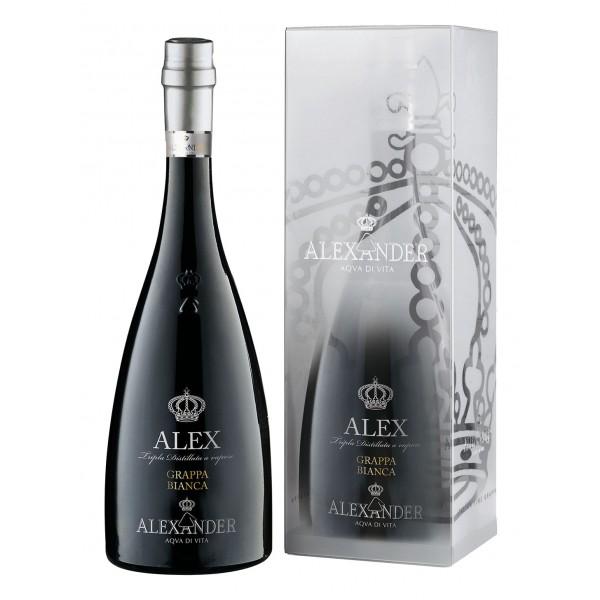 Bottega - Young Grappa - Grappa Alexander - White Grappa - Gift Box - Liqueurs and Spirits