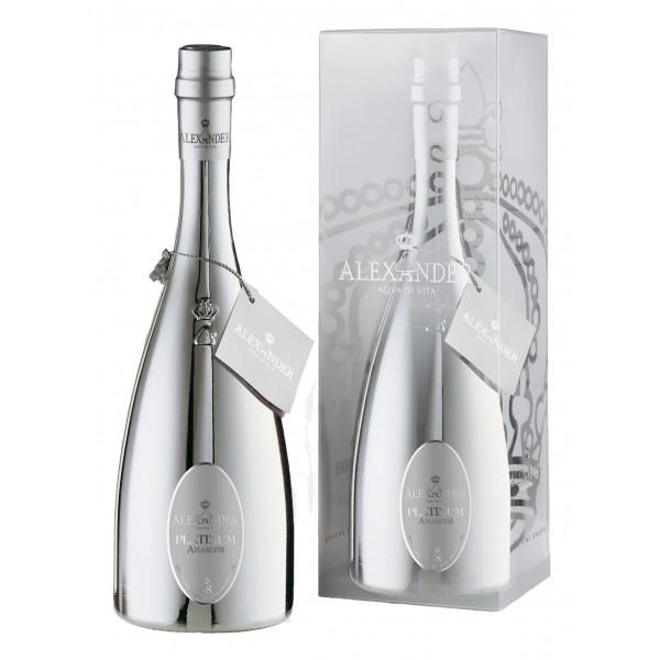 Bottega - Grappa Platinum Alexander - Grappa of Amarone - White Grappas - Liqueurs and Spirits