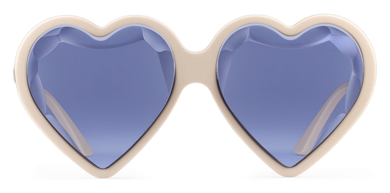 a1304e0776 Gucci - Acetate Heart Sunglasses - Ivory Violet - Gucci Eyewear ...