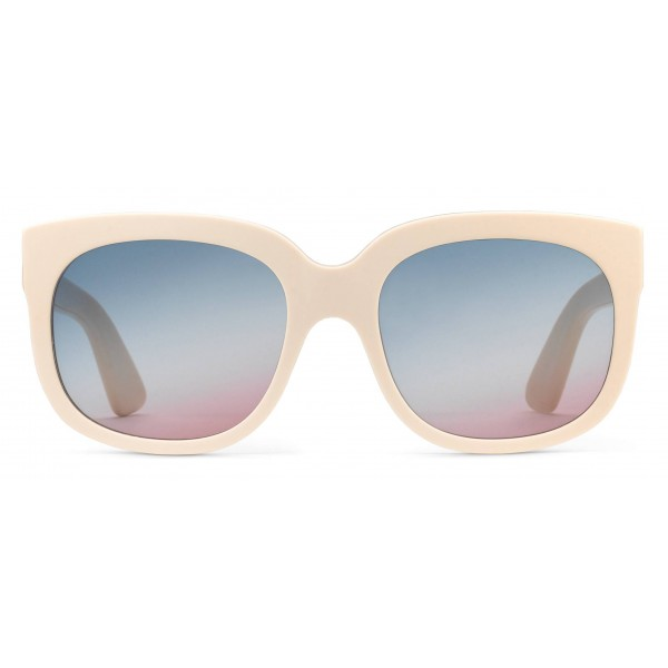 Gucci - Occhiali da Sole Gucci Elton John - Avorio - Gucci Eyewear - Elton John Official