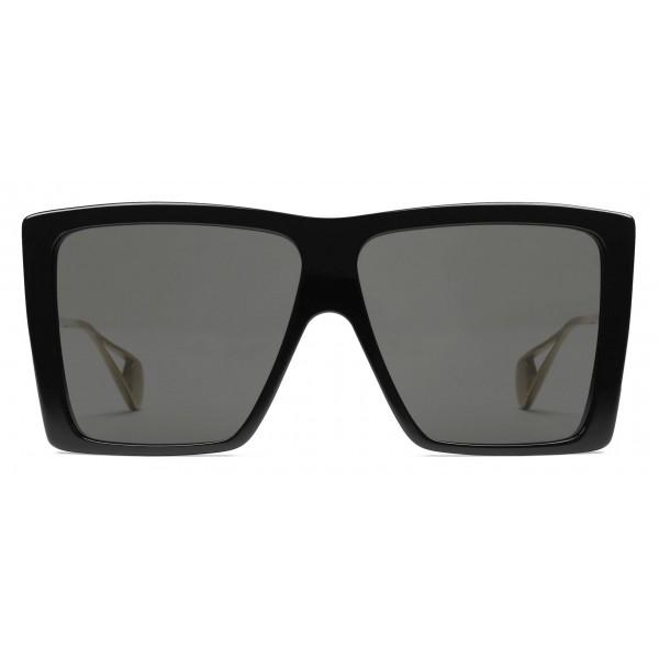 nuovi oggetti vendita calda a buon mercato nuovi prezzi più bassi Gucci - Occhiali da Sole Quadrati - Neri - Gucci Eyewear - Avvenice