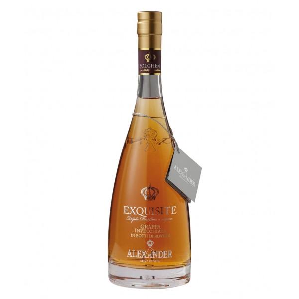 Bottega - Exquisite Grappa Invecchiata Bolgheri Alexander - Grappe Invecchiate - Liquori e Distillati