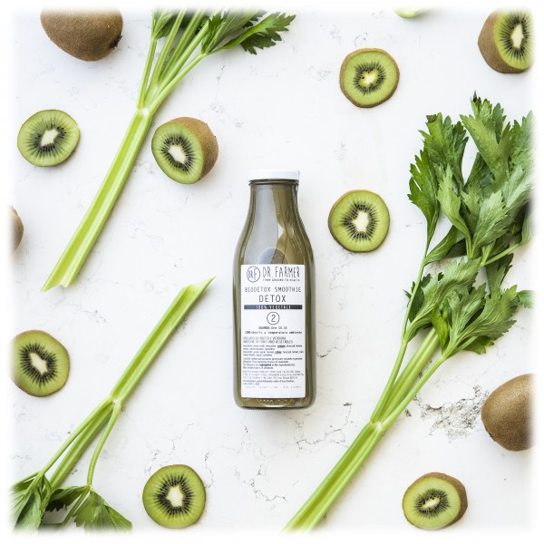Dr. Farmer - Biodetox Smoothies Juice 2 Detox - 100 % Organic - 100 % Italian - 100 % Vegan - Organic Juices
