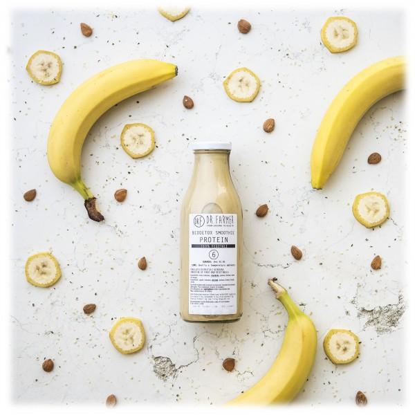 Dr. Farmer - Biodetox Smoothies Juice 6 Protein - 100 % Biologico - 100 % Italiano - 100 % Vegan - Succhi Bio