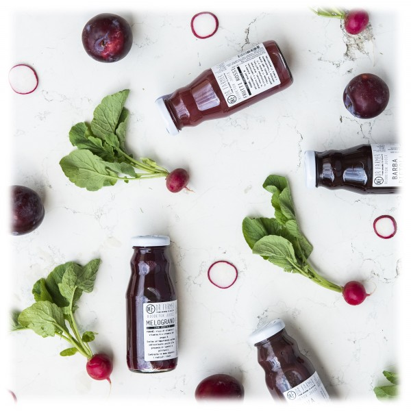 Dr. Farmer - Smoothie Juice 100 % in Purezza - Uva Rossa - 100 % Biologico - 100 % Italiano - 100 % Vegan - Succhi Bio