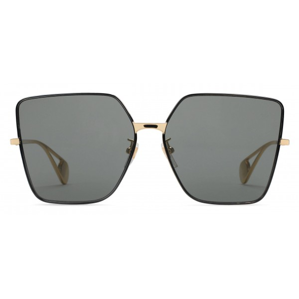 0fce7f929dff Gucci - Square Frame Sunglasses - Gold - Gucci Eyewear - Avvenice