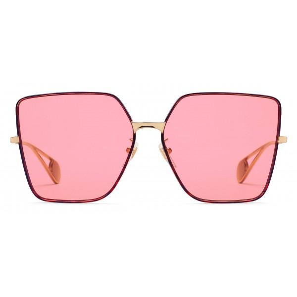 a3a30c501ddd Gucci - Square Frame Sunglasses - Pink - Gucci Eyewear - Avvenice