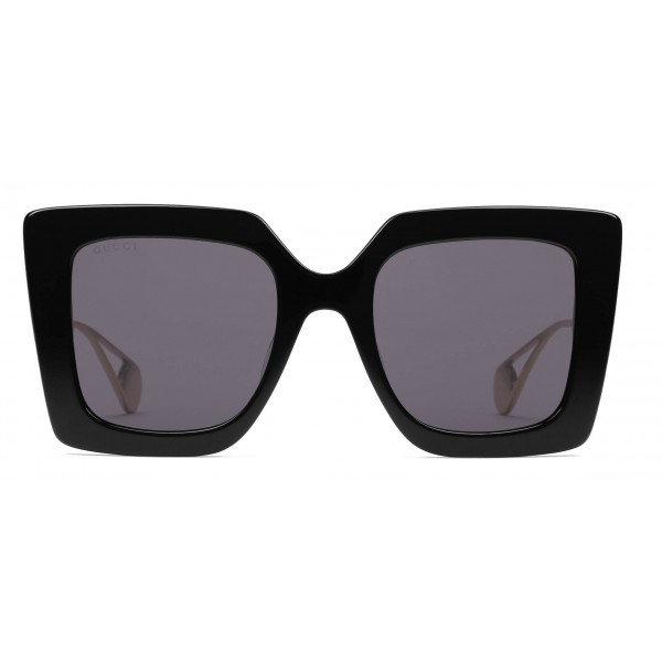 a2183cf3d6 Gucci - Square Frame Sunglasses - Glossy Black - Gucci Eyewear ...