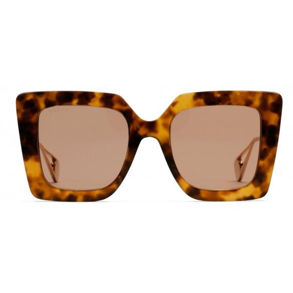 1a3d89fdd545 Gucci - Square-Frame Sunglasses - Tortoiseshell Acetate - Gucci Eyewear