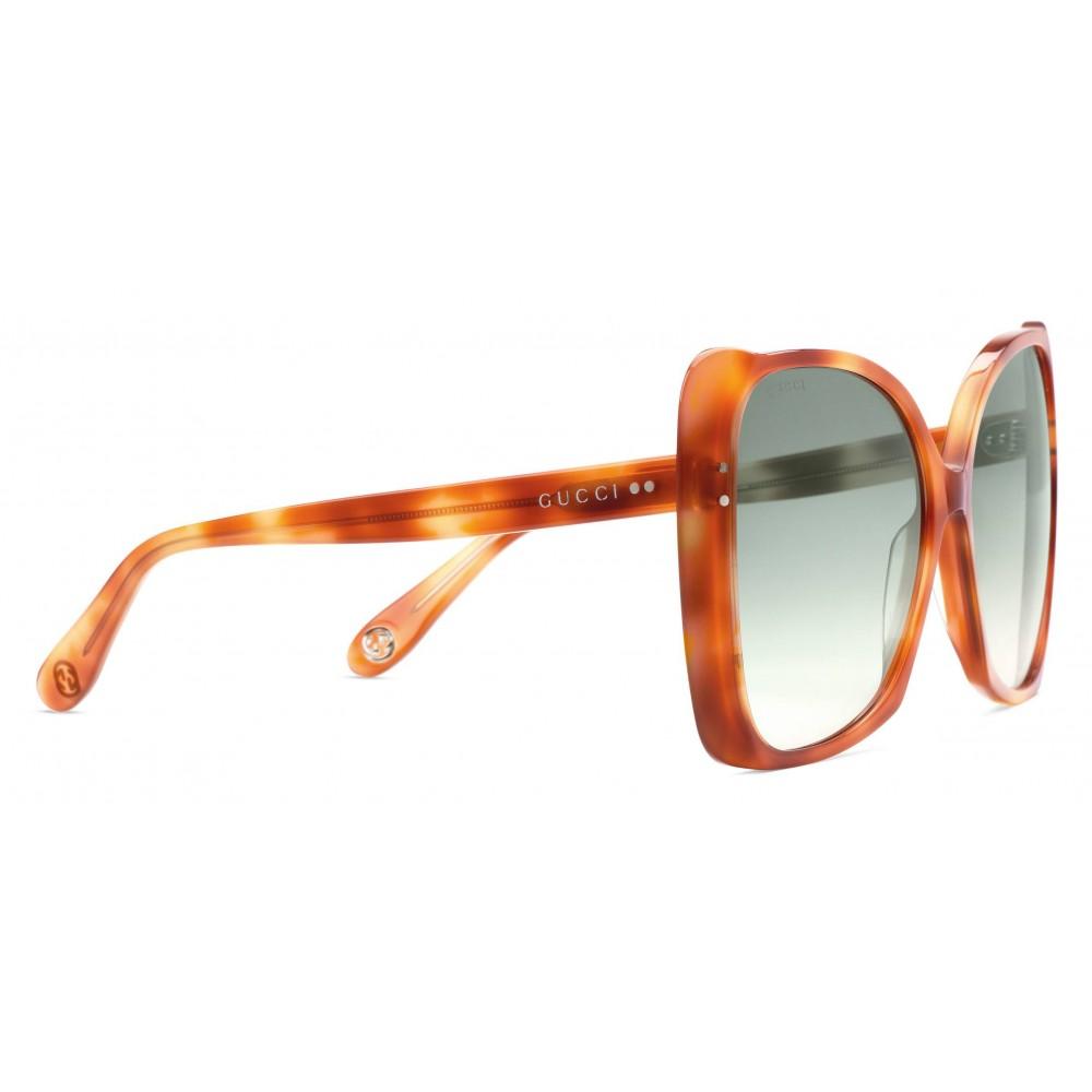 dc33cb3b Gucci - Oversize Square Frame Sunglasses - Light ...