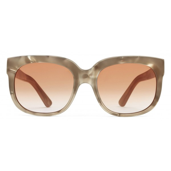 0ba2965615 Gucci - Square Rectangular Frame Acetate Sunglasses - Pearl Acetate With  Taupe Varnish - Gucci Eyewear