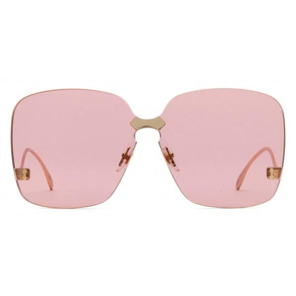 625287dfb4 Gucci - Square Frame Rimless Sunglasses - Oro - Gucci Eyewear ...
