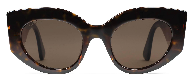 ae8edac4f4b Gucci - Oversize Cat Eye Acetate Sunglasses - Sylvie Web Acetate - Gucci  Eyewear - Avvenice