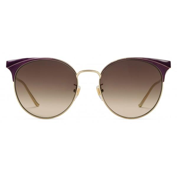 cda2f308895 Gucci - Round Frame Metal Sunglasses - Light Tortoiseshell - Gucci Eyewear