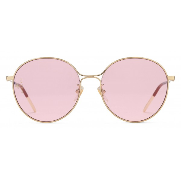 b9961ecc196 Gucci - Aviator Metal Sunglasses - Shiny Gold - Gucci Eyewear ...