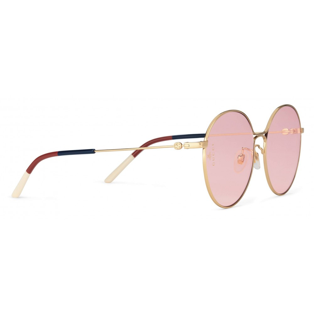 f7537eef3e0 Gucci - Aviator Metal Sunglasses - Shiny Gold - Gucci Eyewear - Avvenice