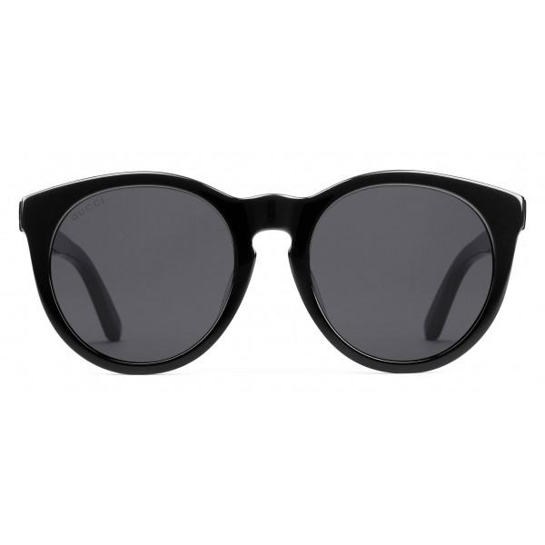 2d6f8dddcef50 Gucci - Round Acetate Sunglasses - Black Crystal Stars - Gucci Eyewear