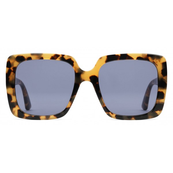 83d17b33aa7 Gucci - Rectangular Acetate Sunglasses - Shiny Spotted Turtle - Gucci  Eyewear