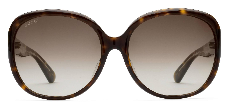 d9cc474bff9c Gucci - Oversized Round Sunglasses in Acetate - Dark Turtle Acetate - Gucci  Eyewear
