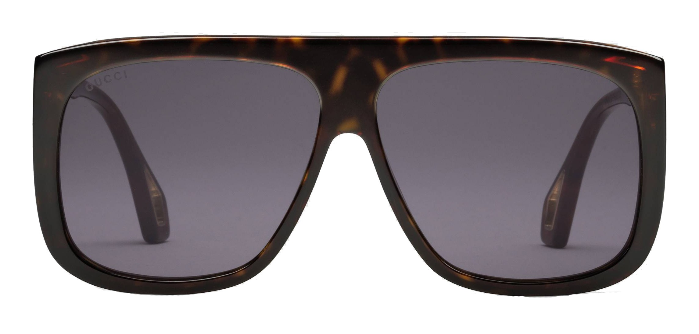 e1993f34 Gucci - Square Sunglasses with Side Protections - Shiny Turtle Amber -  Gucci Eyewear - Avvenice