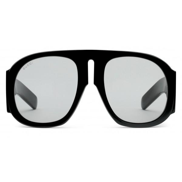 a0fd8769e Gucci - Acetate Sunglasses - Black Blue - Gucci Eyewear - Avvenice