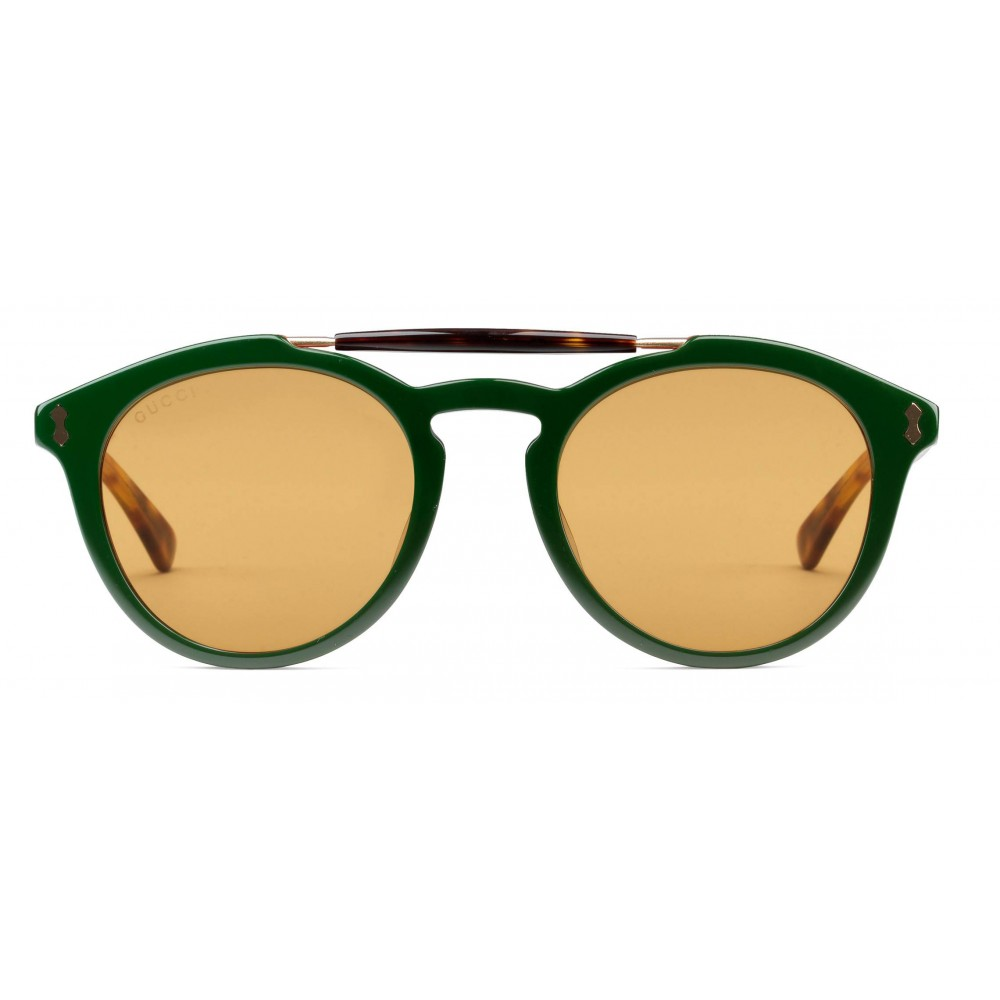 020e7765dee Gucci round acetate sunglasses green turtle acetate gucci eyewear jpg  1000x1000 Leather gucci eyeglasses