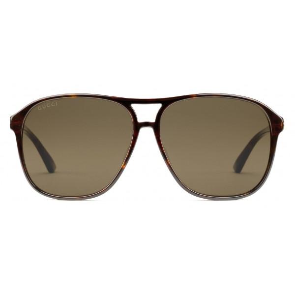 3a1aef0bc Gucci - Optimally Fitting Acetate Aviator Sunglasses - Dark Turtle Acetate  - Gucci Eyewear