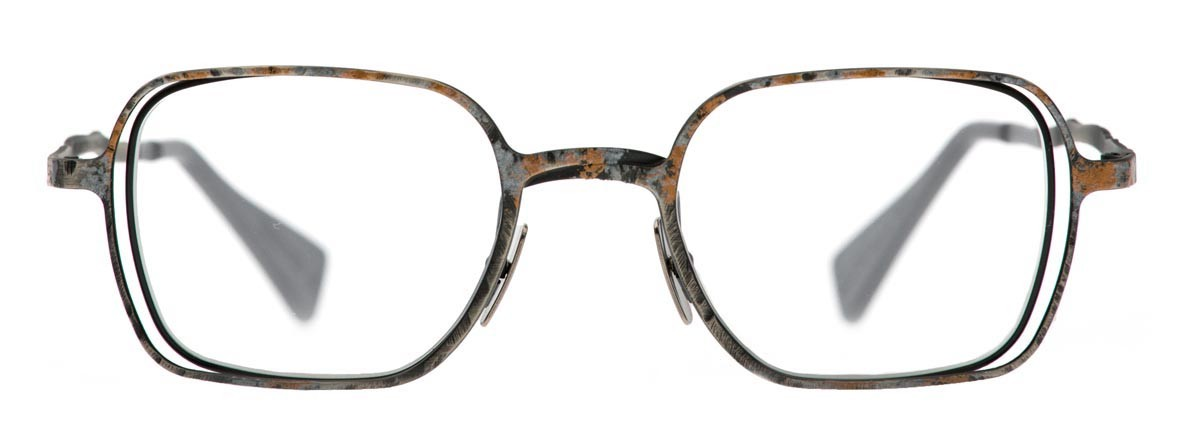 b6825e3fa412 Kuboraum - Mask H12 - Rust - H12 BS - Optical Glasses - Kuboraum Eyewear -  Avvenice