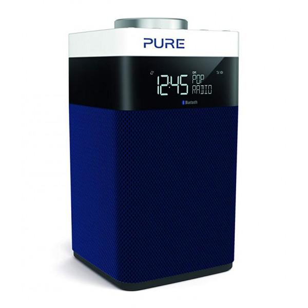 Pure - Pop Midi S - Navy - DAB / DAB + / Radio FM Compatta e Portatile con Bluetooth - Radio Digitale di Alta Qualità
