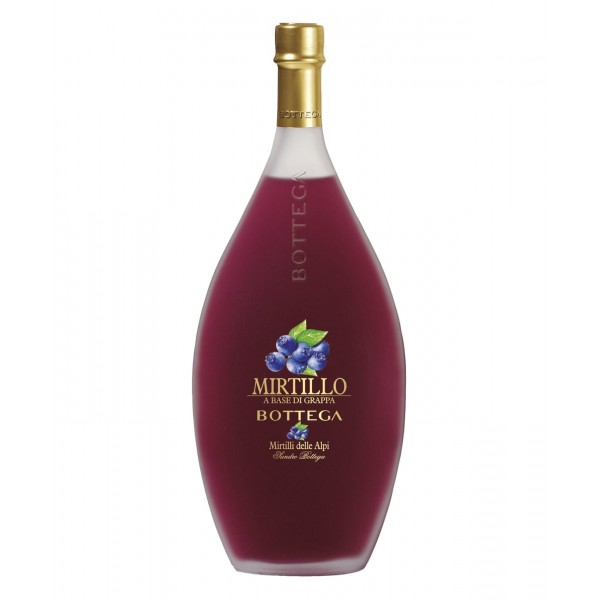 Bottega - Mirtillo - Liquore al Mirtillo Bottega - Liquori e Distillati