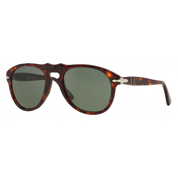 Persol - 649 - Original - 649 Series - Havana / Green - PO0649 - Sunglasses - Persol Eyewear