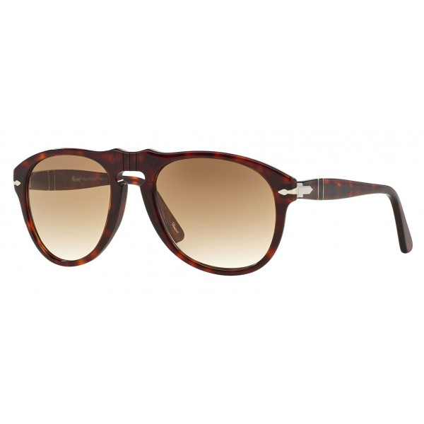 Persol - 649 - Original - 649 Series - Havana / Brown Gradient Clear - PO0649 - Sunglasses - Persol Eyewear