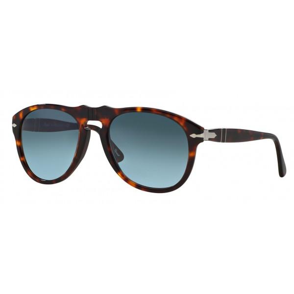 Persol - 649 - Original - 649 Series - Havana / Gray Gradient Celeste - PO0649 - Sunglasses - Persol Eyewear