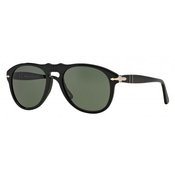 Persol - 649 - Original - 649 Series - Nero / Verdi - PO0649 - Occhiali da Sole - Persol Eyewear