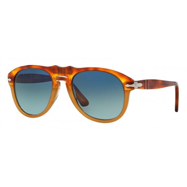 Persol - 649 - Original - 649 Series - Resina e Sale / Polar Blu Sfumate - PO0649 - Occhiali da Sole - Persol Eyewear