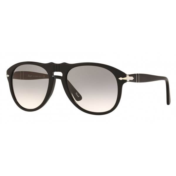 Persol - 649 - Original - 649 Series - Black / Gray Gradient Clear - PO0649 - Sunglasses - Persol Eyewear