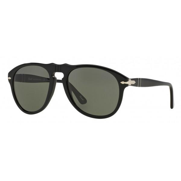 Persol - 649 - Original - 649 Series - Nero / Polar Verdi - PO0649 - Occhiali da Sole - Persol Eyewear