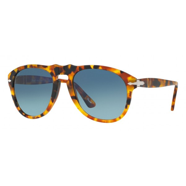 e76aeb35d2 Persol - 649 - Original - 649 Series - Madreterra / Blue Gradient Polar -  PO0649