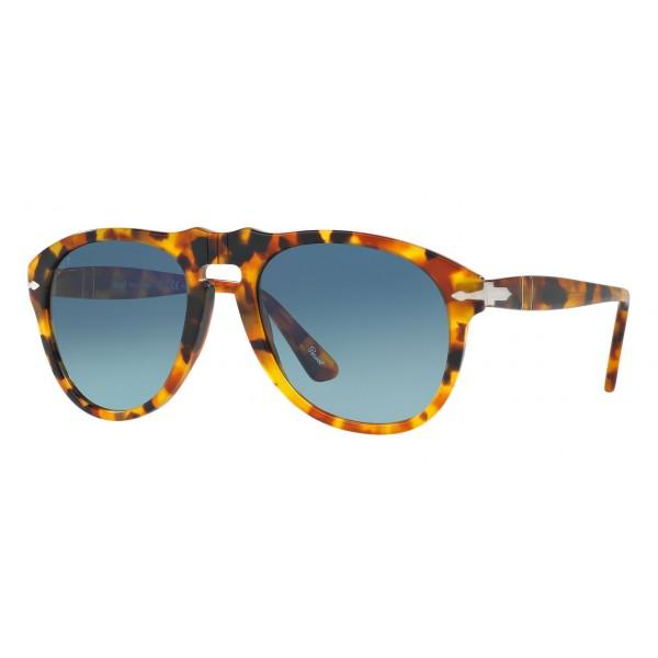 Persol - 649 - Original - 649 Series - Madreterra / Polar Blu Sfumate - PO0649 - Occhiali da Sole - Persol Eyewear