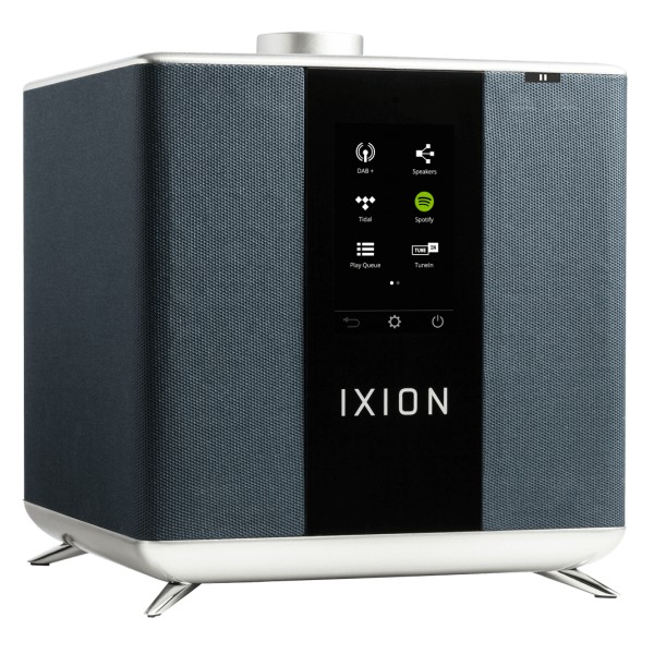 Ixion Audio - Maestro MKII - Blue - Multiroom Speaker - WLAN Multi-Room - Airplay, Stereo, Bluetooth, Wireless, WiFi