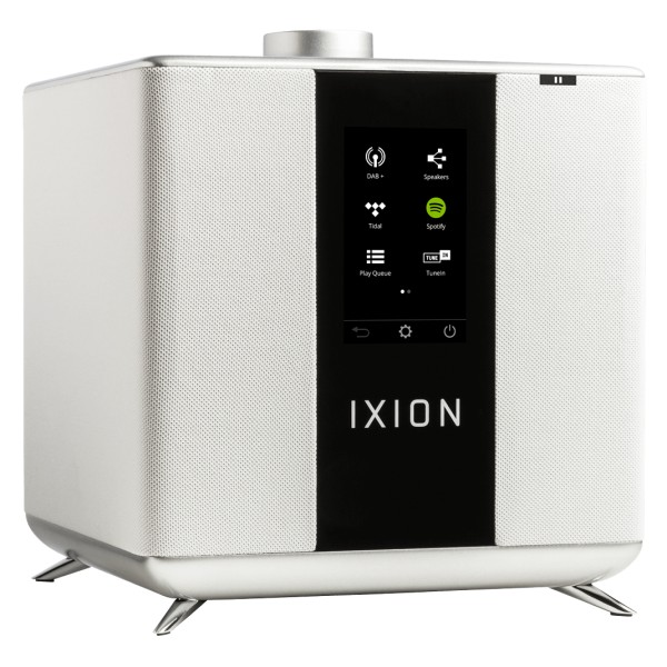 Ixion Audio - Maestro MKII - White - Multiroom Speaker - WLAN Multi-Room - Airplay, Stereo, Bluetooth, Wireless, WiFi