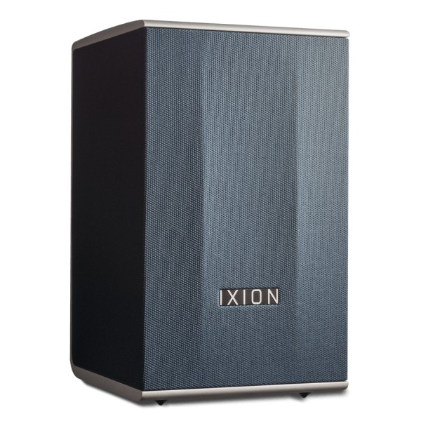 Ixion Audio - Solo:2 - Blue - Multiroom Speaker - WLAN Multi-Room - Airplay, Stereo, Bluetooth, Wireless, WiFi