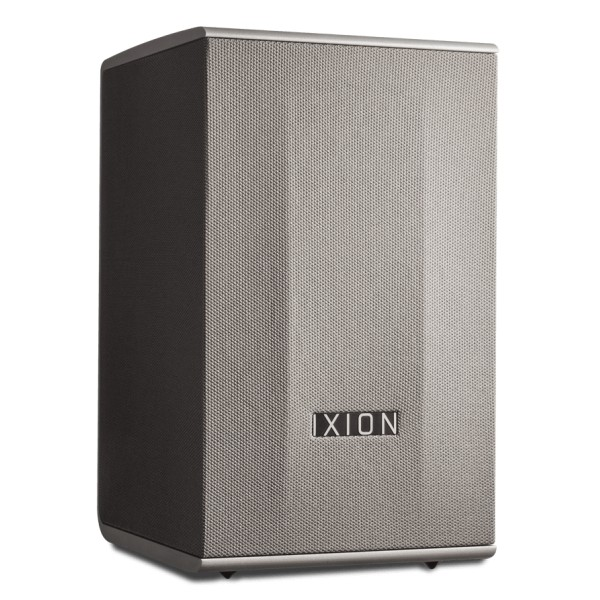 Ixion Audio - Solo:2 - Grey - Multiroom Speaker - WLAN Multi-Room - Airplay, Stereo, Bluetooth, Wireless, WiFi