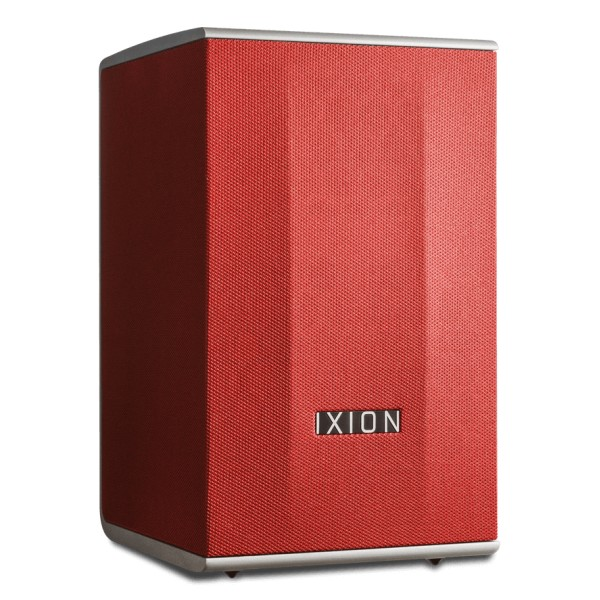 Ixion Audio - Solo:2 - Red - Multiroom Speaker - WLAN Multi-Room - Airplay, Stereo, Bluetooth, Wireless, WiFi