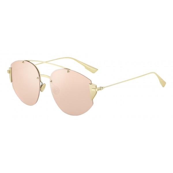 971f9d714a Dior - Sunglasses - DiorStronger - Gold Metal Rose - Dior Eyewear - Avvenice