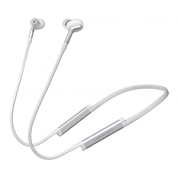 Libratone - Track+ - Cloudy White - High Quality Earphones - Active Noice Cancelling - Wireless