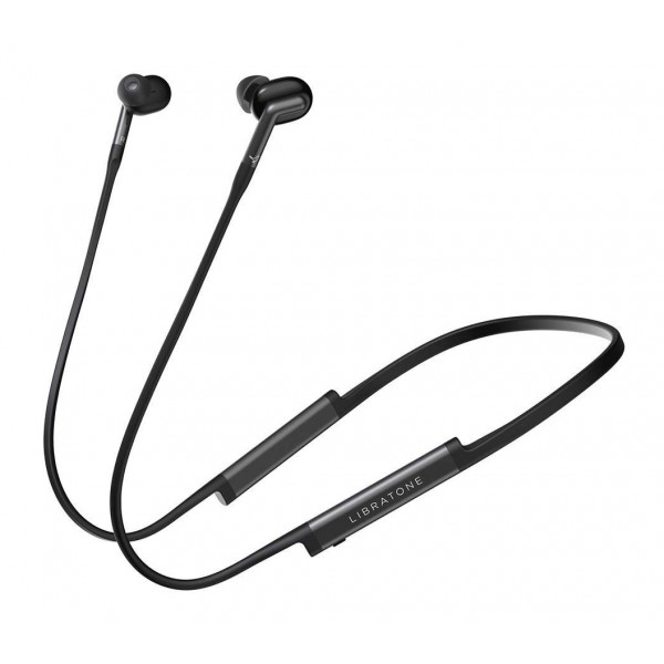 Libratone - Track+ - Stormy Black - High Quality Earphones - Active Noice Cancelling - Wireless