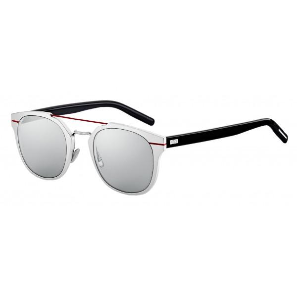 4f9973de3f6 Dior - Sunglasses - Dior AL13.5 - Silver and Red - Dior Eyewear - Avvenice